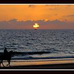 Puesta De Sol En Zahara De Los Atunes